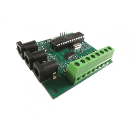 RPI_LCT4V3 4x CT - 3x Voltage 400A