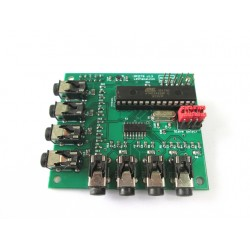 RPICT8 - Raspberrypi 8x CT adaptor - Stackable